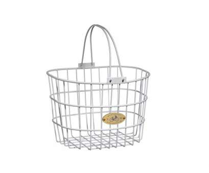 wire mesh parts baskets Nantucket Bicycle Basket Surfside Adult Wire D-Shape Basket in White Wire Mesh Parts Baskets Popular Nantucket Bicycle Basket Surfside Adult Wire D-Shape Basket In White Collections