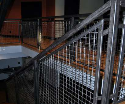 wire mesh railing Banker Wire Helps Architect Design Rustic Dream Home With Wire Mesh Wire Mesh Railing New Banker Wire Helps Architect Design Rustic Dream Home With Wire Mesh Pictures