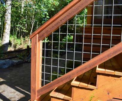 wire mesh railing Bothell, welded wire mesh deck railing, Sublime Garden Design Wire Mesh Railing Nice Bothell, Welded Wire Mesh Deck Railing, Sublime Garden Design Images