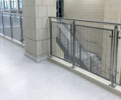 wire mesh railing Wire Mesh Balustrade, BLADE™, West High, Middle School, Texas Wire Mesh Railing New Wire Mesh Balustrade, BLADE™, West High, Middle School, Texas Images