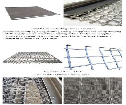 wire mesh sand screen Surface treatment: galvanized or painted. Wire diameter: 0.71mm, 12.5mm. Mesh size:,, 100mm. Hole type: square, rectangular, long slot. Inherit'>4 Wire Mesh Sand Screen Brilliant Surface Treatment: Galvanized Or Painted. Wire Diameter: 0.71Mm, 12.5Mm. Mesh Size:,, 100Mm. Hole Type: Square, Rectangular, Long Slot. Inherit'>4 Photos