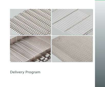 wire mesh screen catalogue Wire Mesh Conveyor Belts, Steinhaus -, Catalogue, Technical Wire Mesh Screen Catalogue Simple Wire Mesh Conveyor Belts, Steinhaus -, Catalogue, Technical Collections