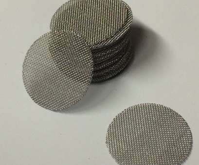 wire mesh screen disc 50 Count, Stainless Steel T304 Wire Mesh Screen Filter Discs 1/2