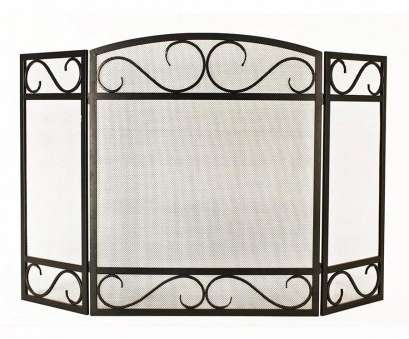 wire mesh screen lowes Display product reviews, 50.15-in Black Powder Coated Steel 3-Panel Scroll Fireplace Wire Mesh Screen Lowes Perfect Display Product Reviews, 50.15-In Black Powder Coated Steel 3-Panel Scroll Fireplace Pictures