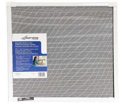 wire mesh screen lowes Saint-Gobain ADFORS Adjustable Fiberglass 20-in x 18-in Window Screen Wire Mesh Screen Lowes Fantastic Saint-Gobain ADFORS Adjustable Fiberglass 20-In X 18-In Window Screen Solutions