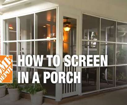 wire mesh screen menards How to Screen in a Porch, Installing a Screen Tight Porch System Wire Mesh Screen Menards Brilliant How To Screen In A Porch, Installing A Screen Tight Porch System Images
