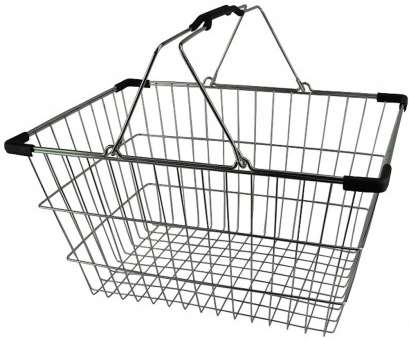 wire mesh shopping baskets Chrome Plated Wire Shopping Basket Wire Mesh Shopping Baskets New Chrome Plated Wire Shopping Basket Images