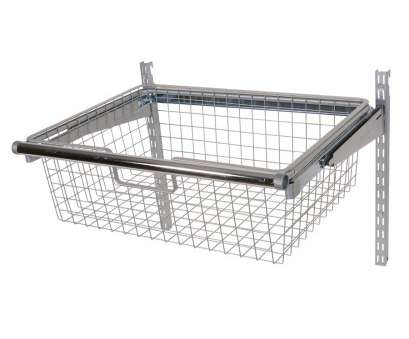 wire mesh sliding baskets Shop Rubbermaid HomeFree Satin Nickel Wire Sliding Basket at Lowes.com Wire Mesh Sliding Baskets Creative Shop Rubbermaid HomeFree Satin Nickel Wire Sliding Basket At Lowes.Com Solutions