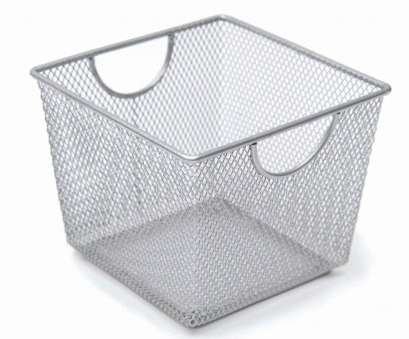 wire mesh tote baskets Small Square Silver Metal Mesh Storage Basket, 7L x 7W x 5H Wire Mesh Tote Baskets Simple Small Square Silver Metal Mesh Storage Basket, 7L X 7W X 5H Galleries