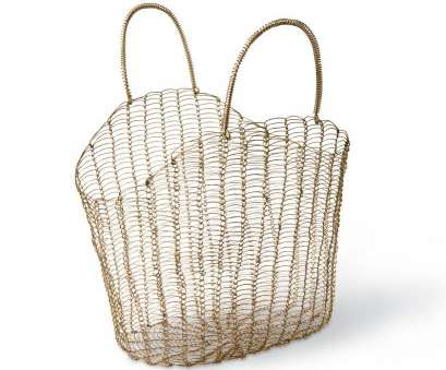 Wire Mesh Tote Baskets Professional Wire Mesh Tote,, Farmers Market Bag, Gardeners.Com Ideas