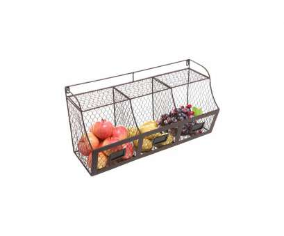 wire mesh vegetable baskets Large Rustic Brown Metal Wire Wall Mounted Hanging Fruit Basket Storage Organizer, w/ Chalkboards Wire Mesh Vegetable Baskets Cleaver Large Rustic Brown Metal Wire Wall Mounted Hanging Fruit Basket Storage Organizer, W/ Chalkboards Galleries