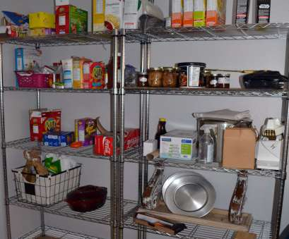 wire pantry shelving The Crux -, Won't Believe This Easy Pantry Shelving Makeover 11 Fantastic Wire Pantry Shelving Solutions