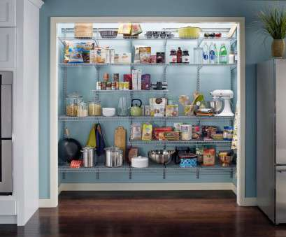 wire pantry shelving ideas 15 Kitchen Pantry Ideas With Form, Function Wire Pantry Shelving Ideas Brilliant 15 Kitchen Pantry Ideas With Form, Function Images