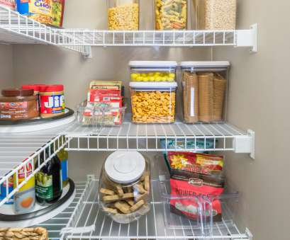 wire pantry shelving ideas Nine Ideas to Organize a Small Pantry with Wire Shelving, Kelley Nan Wire Pantry Shelving Ideas Perfect Nine Ideas To Organize A Small Pantry With Wire Shelving, Kelley Nan Galleries
