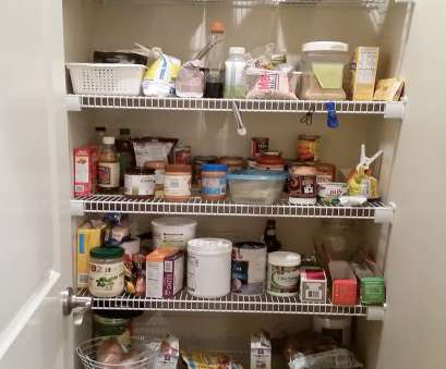 wire pantry shelving Kitchen Pantry Makeover, Replace wire shelves with wrap around Wire Pantry Shelving Top Kitchen Pantry Makeover, Replace Wire Shelves With Wrap Around Collections