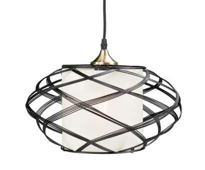 wire pendant lamp null Sultano 1-Light Matte Black Wire Cage Pendant Lamp 11 Simple Wire Pendant Lamp Solutions