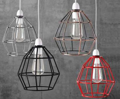 9 Creative Wire Pendant Lamp Shade Images