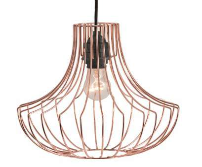 wire pendant lamp shade Coop Pendant Light Shade, in Copper. Contemporary, bold statement lighting. £29. MADE.COM Wire Pendant Lamp Shade Simple Coop Pendant Light Shade, In Copper. Contemporary, Bold Statement Lighting. £29. MADE.COM Ideas