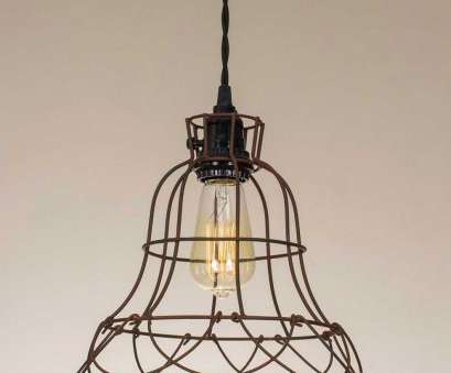 wire pendant light cage Wire Cage Farmhouse Style Pendant Lamp, Emory Valley Mercantile Wire Pendant Light Cage Brilliant Wire Cage Farmhouse Style Pendant Lamp, Emory Valley Mercantile Ideas