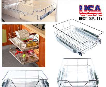 wire rack cabinet storage Details about Kitchen Pull-Out Wire Sliding Basket Rack Cabinet Storage Organizer Drawer Shelf Wire Rack Cabinet Storage Nice Details About Kitchen Pull-Out Wire Sliding Basket Rack Cabinet Storage Organizer Drawer Shelf Images