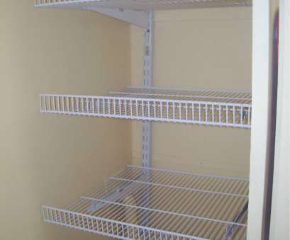 12 Nice Wire Rack Closet Shelving Ideas