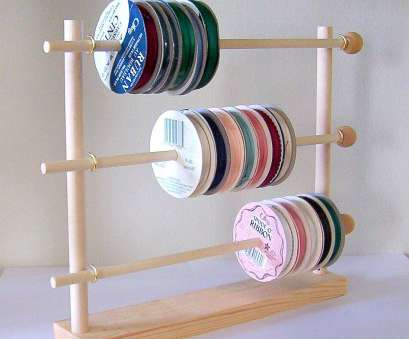 wire rack ribbon storage Spool Ribbon Holder Storage Rack Wire Organizer Ribbon Organizer Rack Wooden Ribbon Storage Rack 18 Simple Wire Rack Ribbon Storage Images