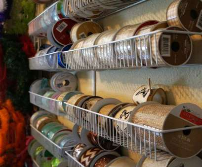 wire rack ribbon storage Craft Room with Creative Storage, Work Space Solutions Wire Rack Ribbon Storage Simple Craft Room With Creative Storage, Work Space Solutions Images