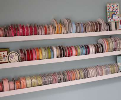 wire rack ribbon storage Ribbon Storage Ideas, Ribba Picture Ledge from Ikea. Could, for wrapping paper too Wire Rack Ribbon Storage Brilliant Ribbon Storage Ideas, Ribba Picture Ledge From Ikea. Could, For Wrapping Paper Too Photos