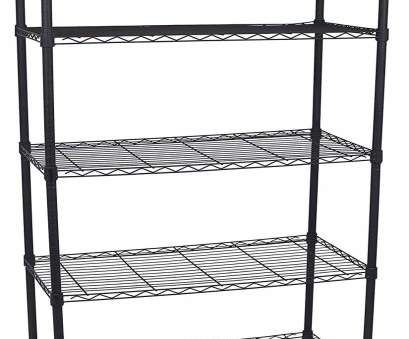 wire rack shelf labels Amazon.com: Internet's Best 5-Tier Wire Shelving, Flat Black, Heavy Duty Shelf, Wide Adjustable Rack Unit, Kitchen Storage: Kitchen & Dining Wire Rack Shelf Labels Best Amazon.Com: Internet'S Best 5-Tier Wire Shelving, Flat Black, Heavy Duty Shelf, Wide Adjustable Rack Unit, Kitchen Storage: Kitchen & Dining Solutions