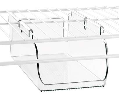 wire rack shelving accessories Under Shelf Storage,, Wire Shelving Image 19 Best Wire Rack Shelving Accessories Photos