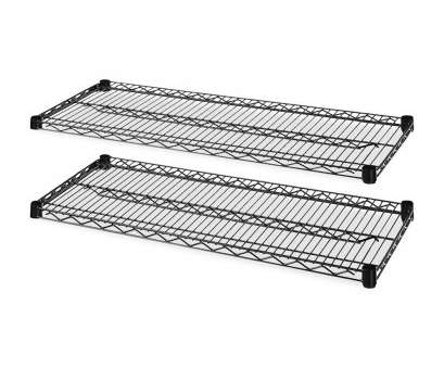 wire rack shelving accessories Lorell 2-Extra Industrial Wire Shelves, 48'' x 24'', Black, Walmart.com Wire Rack Shelving Accessories New Lorell 2-Extra Industrial Wire Shelves, 48'' X 24'', Black, Walmart.Com Galleries