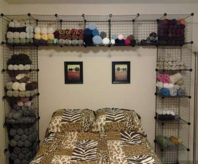 wire rack shelving australia I took my yarn stash to, next level by building these interlocking wire storage cubes over, bed in, guest bedroom Wire Rack Shelving Australia New I Took My Yarn Stash To, Next Level By Building These Interlocking Wire Storage Cubes Over, Bed In, Guest Bedroom Solutions