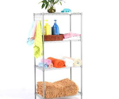 wire rack shelving australia LANGRIA 4 Tier Modern Storage Organization Rack, Shelving Unit, Silver: Amazon.co.uk: Kitchen & Home Wire Rack Shelving Australia Brilliant LANGRIA 4 Tier Modern Storage Organization Rack, Shelving Unit, Silver: Amazon.Co.Uk: Kitchen & Home Pictures