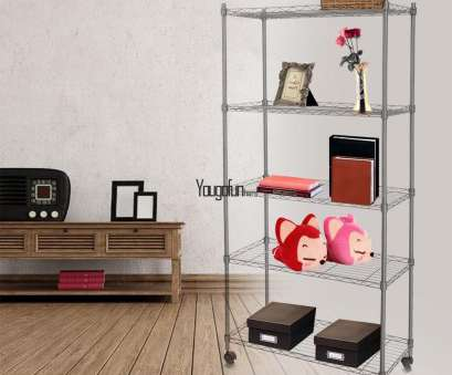 wire rack shelving ebay 5 Tier Metal Shelf Rack Storage Wire Shelving Holder With Wheels Silver Wire Rack Shelving Ebay Fantastic 5 Tier Metal Shelf Rack Storage Wire Shelving Holder With Wheels Silver Solutions
