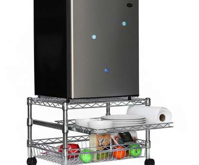 wire rack shelving for refrigerator Mini Fridge Cart, Dorms Wire Rack Shelving, Refrigerator Professional Mini Fridge Cart, Dorms Solutions