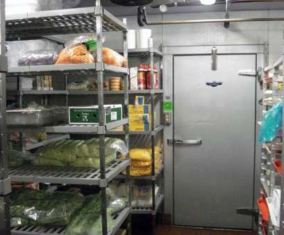 wire rack shelving for refrigerator Tips, Organizing a Walk-In Freezer or Refrigerator, The Wire Rack Shelving, Refrigerator Perfect Tips, Organizing A Walk-In Freezer Or Refrigerator, The Solutions