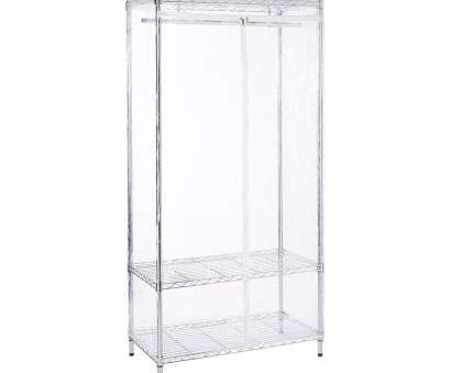 wire rack shelving uk Chrome Wire Clothes Rack with Clear Cover Bundle, Shelves & Wire Rack Shelving Uk New Chrome Wire Clothes Rack With Clear Cover Bundle, Shelves &Amp; Solutions