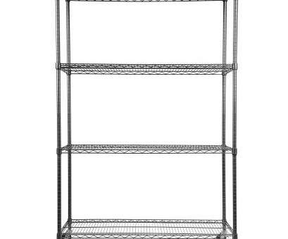 wire rack shelving with casters Amazon.com: Alera ALESW604818BA Complete Wire Shelving Unit w/Caster, Four- Shelf, 48 x 18 x, Black Anthracite: Kitchen & Dining Wire Rack Shelving With Casters Practical Amazon.Com: Alera ALESW604818BA Complete Wire Shelving Unit W/Caster, Four- Shelf, 48 X 18 X, Black Anthracite: Kitchen & Dining Pictures
