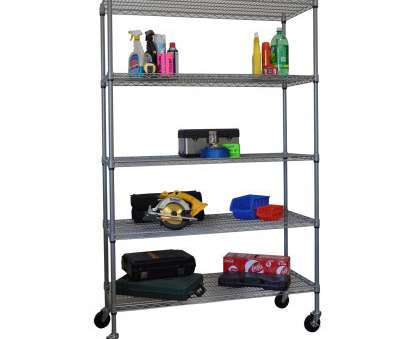 wire rack shelving with casters Trinity 5 Tier Storage Rack Wire Rack Shelving With Casters Professional Trinity 5 Tier Storage Rack Collections