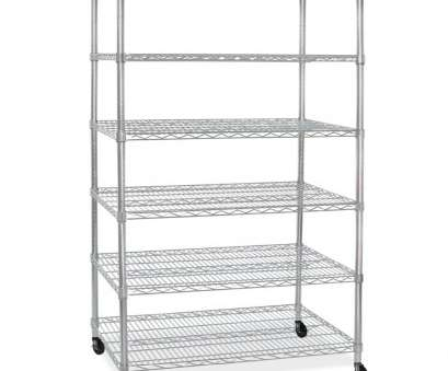 wire rack shelving with casters Wire Rack with 6 Shelves, Casters Wire Rack Shelving With Casters Brilliant Wire Rack With 6 Shelves, Casters Photos