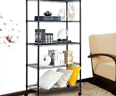 wire rack storage shelving Finnhomy 5 Shelves, Adjustable Steel Wire Unit Shelving Wire Shelving Storage Rack with Wheels Wire Rack Storage Shelving Top Finnhomy 5 Shelves, Adjustable Steel Wire Unit Shelving Wire Shelving Storage Rack With Wheels Solutions