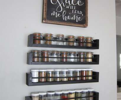 wire rack storage wall Kitchen Wall Spice Rack, Small Changes, Impact, in 2018 Wire Rack Storage Wall Most Kitchen Wall Spice Rack, Small Changes, Impact, In 2018 Photos