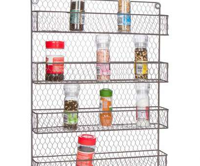 wire rack storage wall Shop 4-Tier Wire Spice Rack Storage Organizer, Wall Mount or Countertop by Trademark Innovations, Free Shipping On Orders Over,, Overstock.com Wire Rack Storage Wall Creative Shop 4-Tier Wire Spice Rack Storage Organizer, Wall Mount Or Countertop By Trademark Innovations, Free Shipping On Orders Over,, Overstock.Com Solutions
