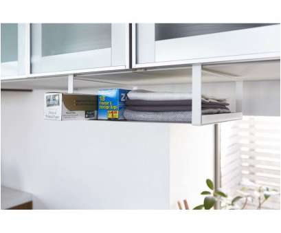 wire rack under shelf SaveEnlarge ·, White Kitchen Under Shelf Storage Wire Rack Under Shelf Cleaver SaveEnlarge ·, White Kitchen Under Shelf Storage Images