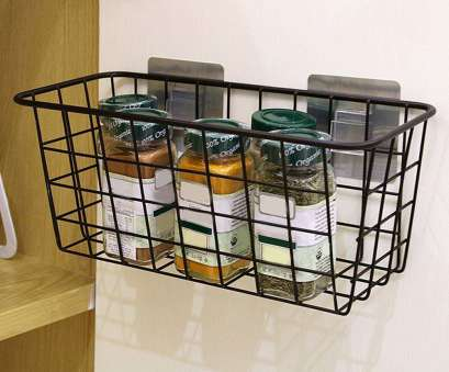 wire rack under shelf Under Shelf Basket Wire Storage Holder Pantry Rack Kitchen Cabinet Organizer 1 of 9Only 2 available Wire Rack Under Shelf Brilliant Under Shelf Basket Wire Storage Holder Pantry Rack Kitchen Cabinet Organizer 1 Of 9Only 2 Available Ideas