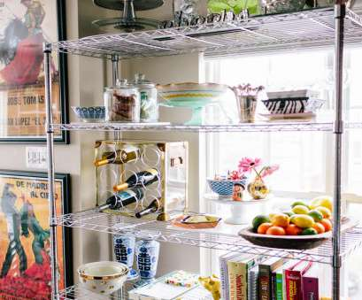 wire shelf rack kitchen Life with a Dash of Whimsy: Styling Wire Shelves in, Kitchen Wire Shelf Rack Kitchen Brilliant Life With A Dash Of Whimsy: Styling Wire Shelves In, Kitchen Pictures