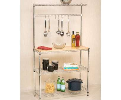 wire shelving bakers rack Amazon.com: Bakers Rack with Cutting Board, Storage Chrome Shelves Kitchen Work Station Shelf Organizer K60: Kitchen & Dining Wire Shelving Bakers Rack Creative Amazon.Com: Bakers Rack With Cutting Board, Storage Chrome Shelves Kitchen Work Station Shelf Organizer K60: Kitchen & Dining Photos