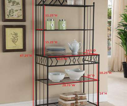 wire shelving bakers rack Amazon.com, Kings Brand Furniture Metal with Marble Finish 5-Tier Bakers Rack, Black, Standing Baker's Racks Wire Shelving Bakers Rack Practical Amazon.Com, Kings Brand Furniture Metal With Marble Finish 5-Tier Bakers Rack, Black, Standing Baker'S Racks Collections