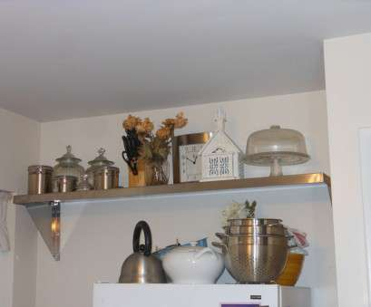Wire Shelving Decorating Ideas Popular ... Open Shelving Design Kitchen Wall Mount Shelves Under Cabinet Shelving Kitchen Ideas, Shelves In Kitchen Pictures