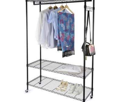 wire shelving garment rack Get Quotations · Garment Racks, Swyss Heavy Duty Wire Shelving Garment Rack Rolling Storage Closet Shelf Organizer with Wire Shelving Garment Rack Simple Get Quotations · Garment Racks, Swyss Heavy Duty Wire Shelving Garment Rack Rolling Storage Closet Shelf Organizer With Galleries